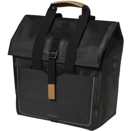 Basil Basil Urban Dry fietsshopper 20 liter - matt black