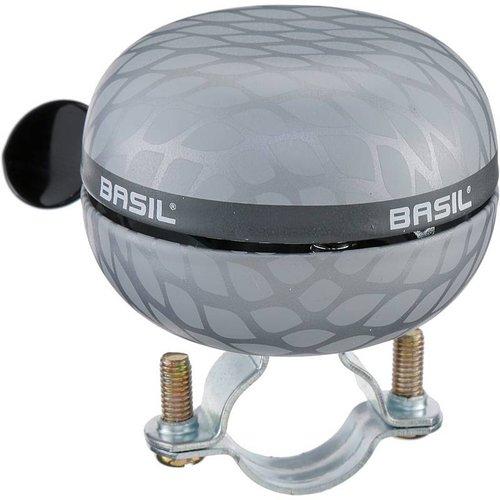 Basil Basil Noir Big Bell fietsbel 60 milimeter - zilver