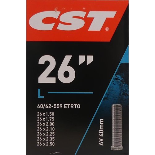 "CST Binnenband CST AV40 26x 1.50-2.50"" / 40/62-559"