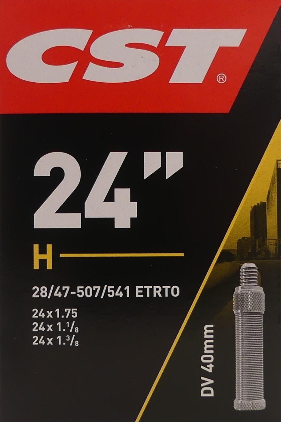 CST Binnenband CST DV40 24 x 1.10-1.75