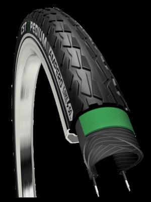 """CST Buitenband CST Xpedium Ampero C1880 28 x 1.40""""/ 37-622 voor E-Bikes  - zwart met reflectie"""