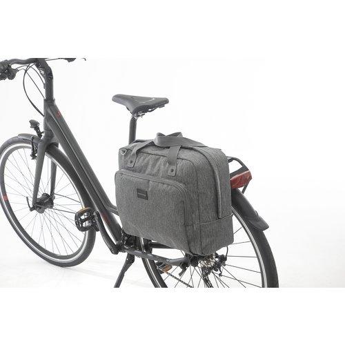 New Looxs Enkele fietstas / schoudertas New Looxs Postino - 18 liter - grijs