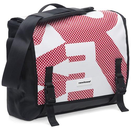 New Looxs Pakaftas / schoudertas New Looxs Postino Office Red White - 14 liter