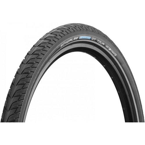 """Schwalbe Buitenband Schwalbe Marathon GT Tour DualGuard 28 x 1.50"""" / 40-622 mm - zwart met reflectie"""