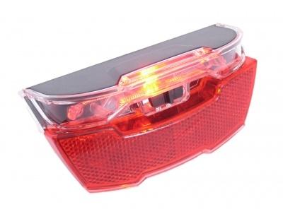 Gazelle Achterlicht Solovision 156 E04 LED batterij rood