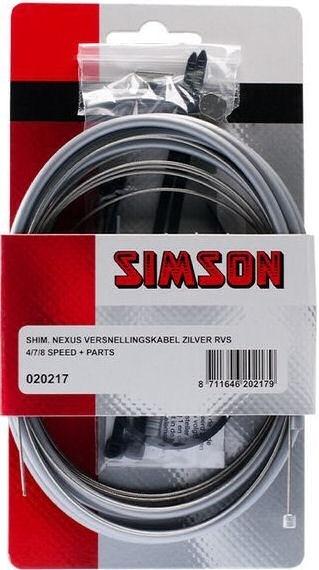 Simson Simson Versnellingskabelset Shimano Nexus grijs
