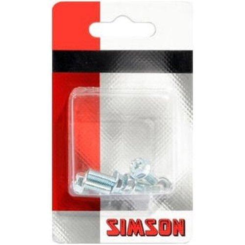 Simson Simson Spatbordboutjes 5 x 12 mm (5 stuks)