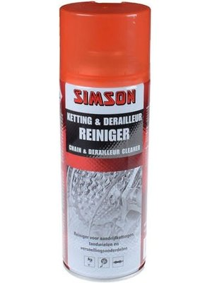 Simson Simson Ketting & Derailleurreiniger Spray 400ml