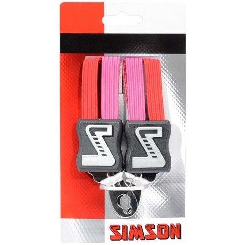 Simson Simson Snelbinder Kort roze-rood