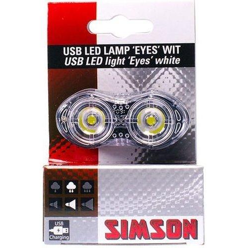Simson Simson USB LED-lamp 'Eyes' - wit