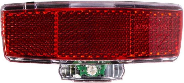 Simson Simson Batterij Bagagedrager achterlicht ''Block'' 1 LED - On/Off