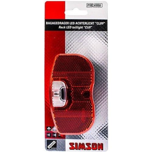 Simson Simson Batterij Bagagedrager achterlicht Cliff