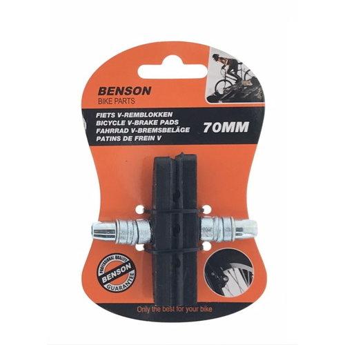 Benson Benson Remblokset met inbus voor V-brake (1 paar)