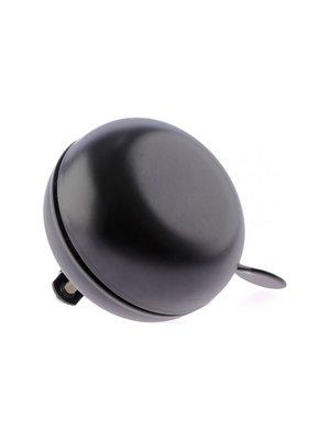 Niet Verkeerd Fietsbel Niet Verkeerd Ding Dong Merlot Black ø80 mm - Mat Zwart
