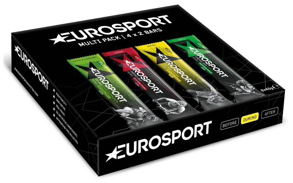 Eurosport Nutrition Eurosport Energy Bar Multipack (2x4 repen � 45 gram)