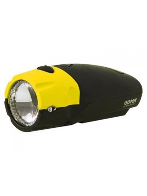 Spanninga Spanninga Batterij Koplamp stuurmontage Goma LED - Geel