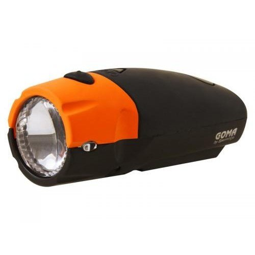 Spanninga Spanninga Batterij Koplamp stuurmontage Goma LED - Oranje