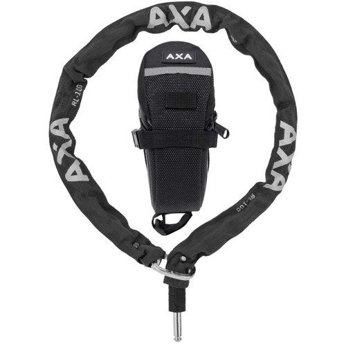 AXA Insteekketting AXA RLC 100/5,5 met tasje - zwart (op kaart)
