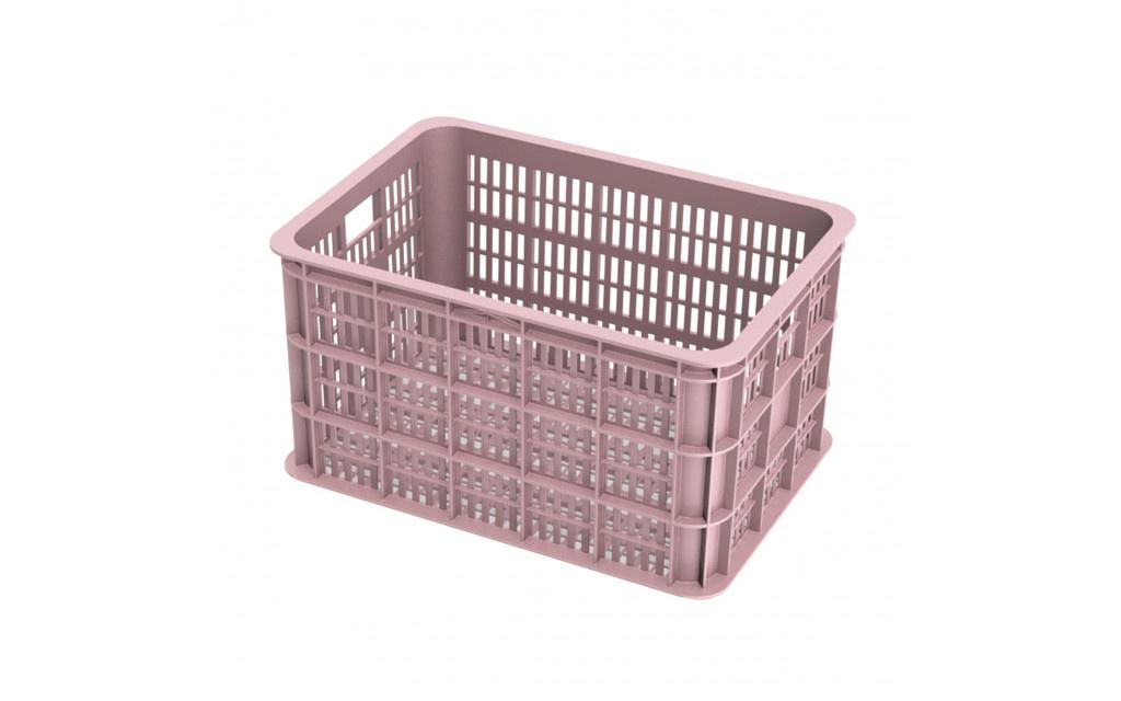 Basil Fietskrat Basil Crate Large 50 Liter - Faded Blossom