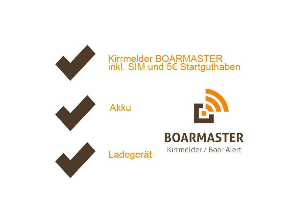 """BOARMASTER Starter-Paket """"S"""" für 1 Kirrung"""
