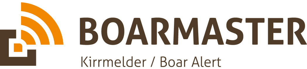BOARMASTER feeding place alert / alarm - the ideal system for monitoring your feeding places.