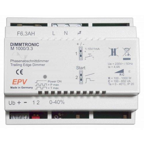 EPV DIMMTRONIC M1000/3.3 Phasenabschnittdimmer