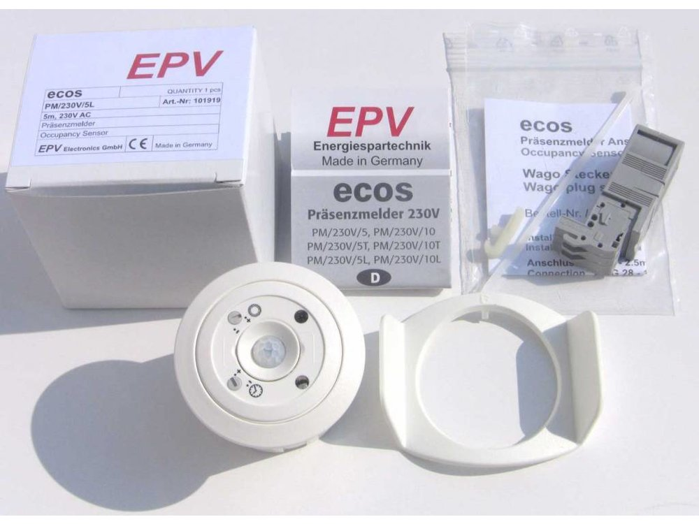 EPV Präsenzmelder ecos PM/230V/5