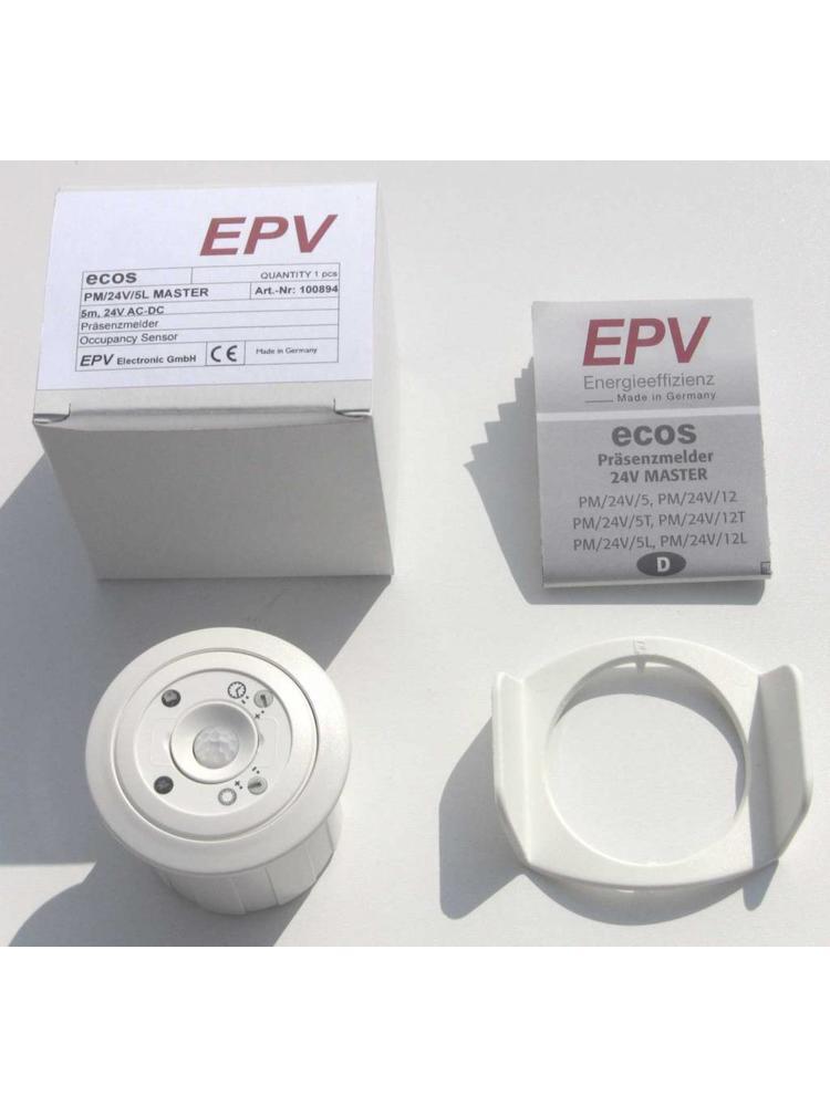 Erweiterungs-Präsenzmelder ecos PM/24V/5 SLAVE