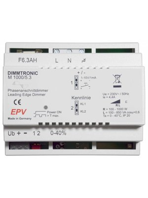 DIMMTRONIC M1000/5.3 Phasenanschnittdimmer