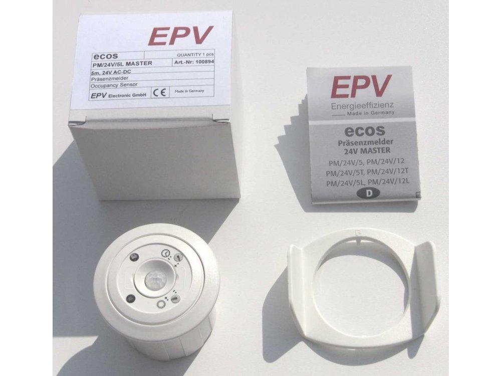 EPV Präsenzmelder ecos PM/24V/5K DIM MASTER