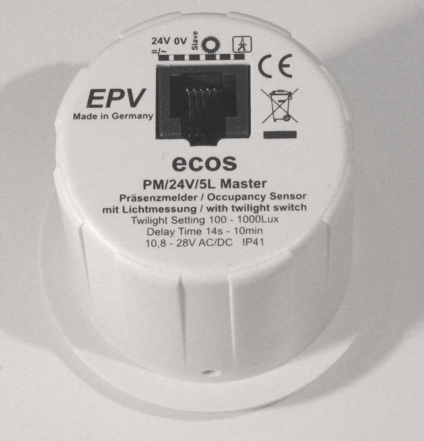ecos 24V Rückansicht