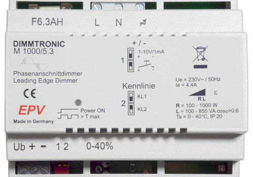 DIMMTRONIC M1000/5.3 Leading-edge dimmer