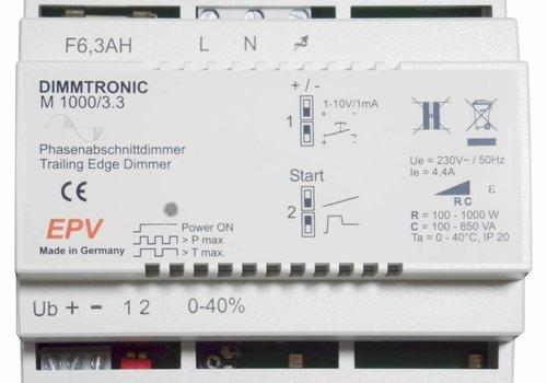 DIMMTRONIC M1000/3.3 Phasenabschnittdimmer