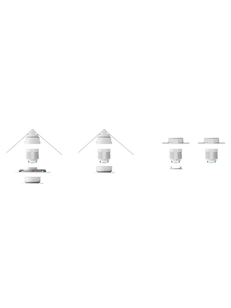 EPV Design-Präsenzmelder occy®  smarthome (24V) - für Loxone, Homematic, Comexio, WAGO, etc.
