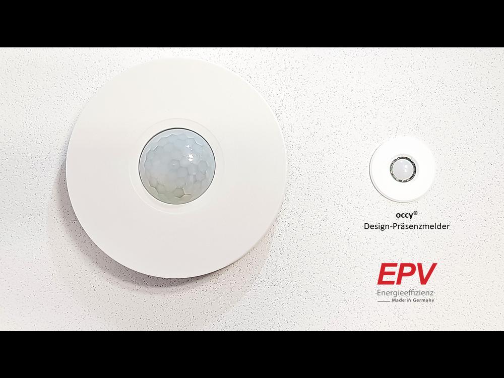 EPV 24V design PIR occupancy motion sensor occy® Smart Home for Loxone, Homematic, Comexio, WAGO etc.