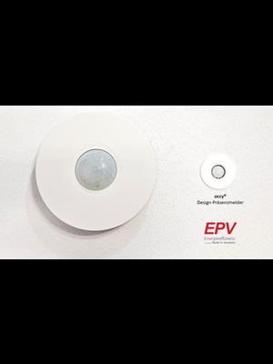 EPV 24V Design-Präsenzmelder Bewegungsmelder occy®  smarthome für Loxone, Homematic, Comexio, WAGO, etc.