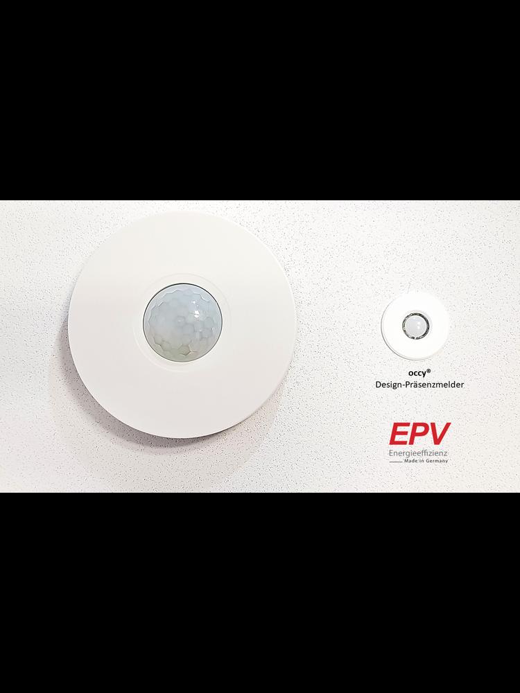 EPV 24V design occupancy sensor motion sensor occy® smarthome for Loxone, Homematic, Comexio, WAGO etc.