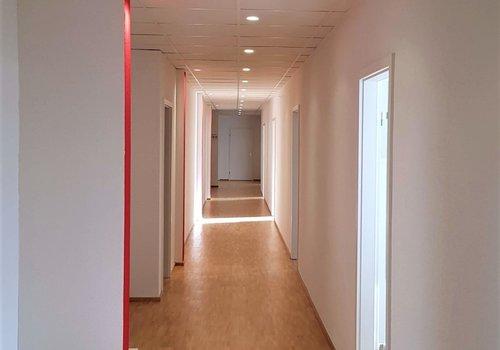 Automatic corridor dimming