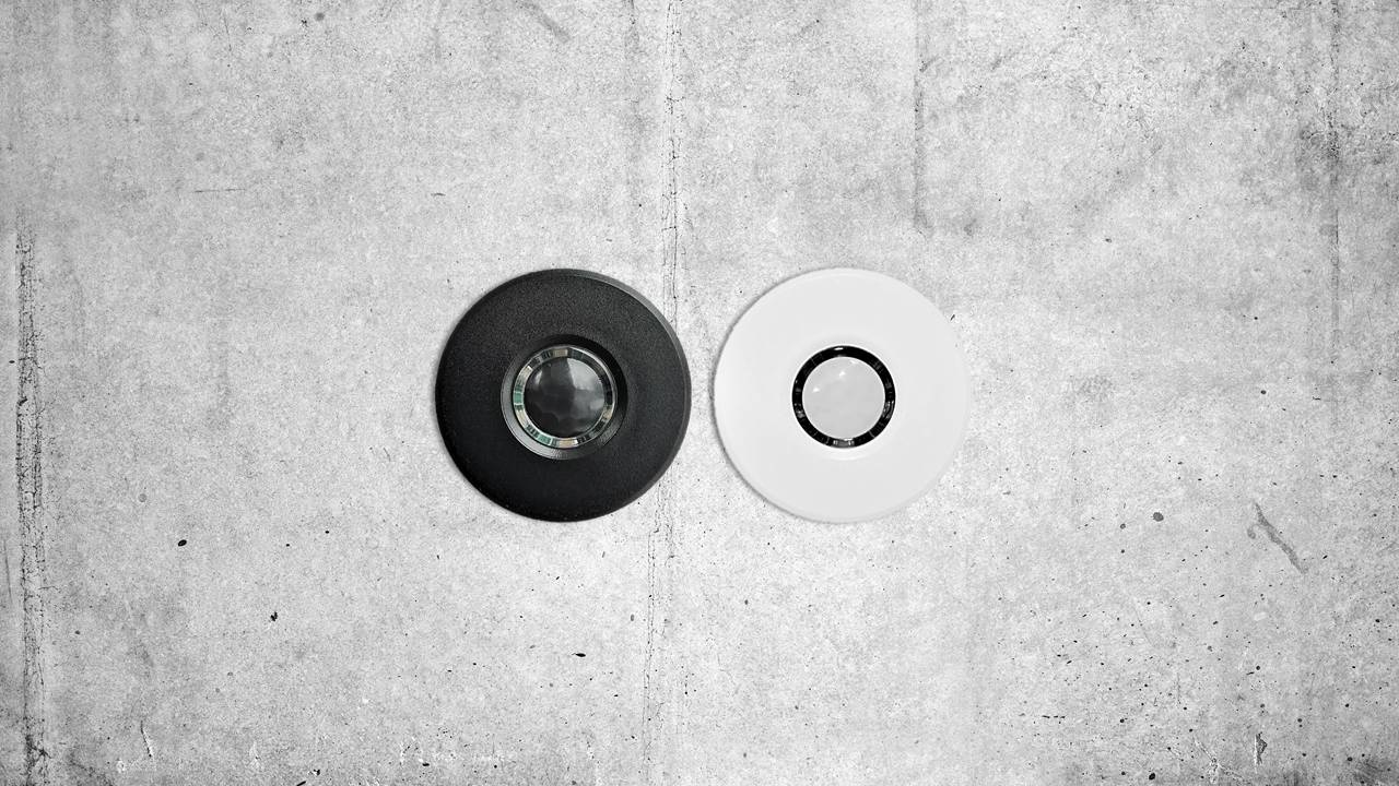 24V Smarthome Präsenzmelder occy in weiss oder schwarz