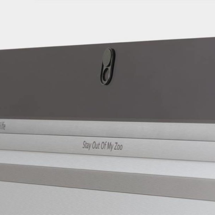 Webcam Abdeckungen | Metall schwarz | 3er-Set