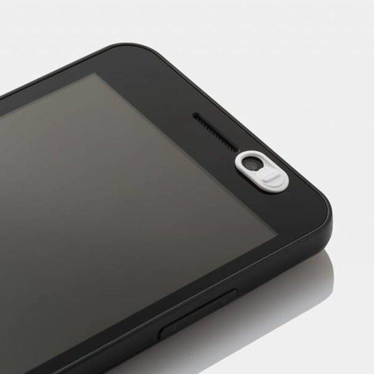 Webcam Abdeckungen | Kunststoff weiss | 3er-Set