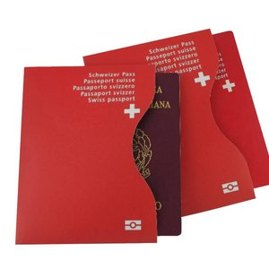 RFID Passport Protection Sleeves | Switzerland | Set of 2