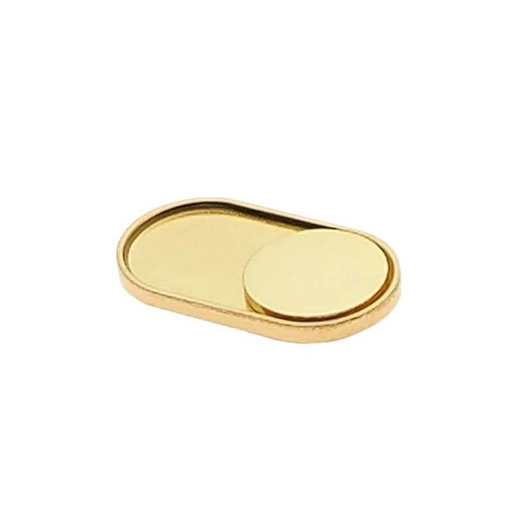 Webcam Abdeckung | Gold Edition (Echter Gold-Überzug) | 1 Stk