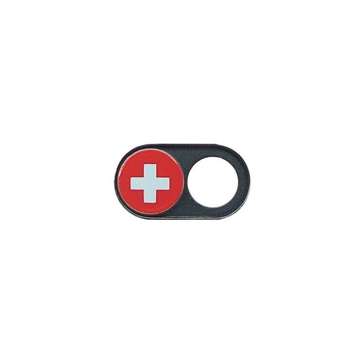 Webcam Covers | Metal black | Swiss | Set of 2