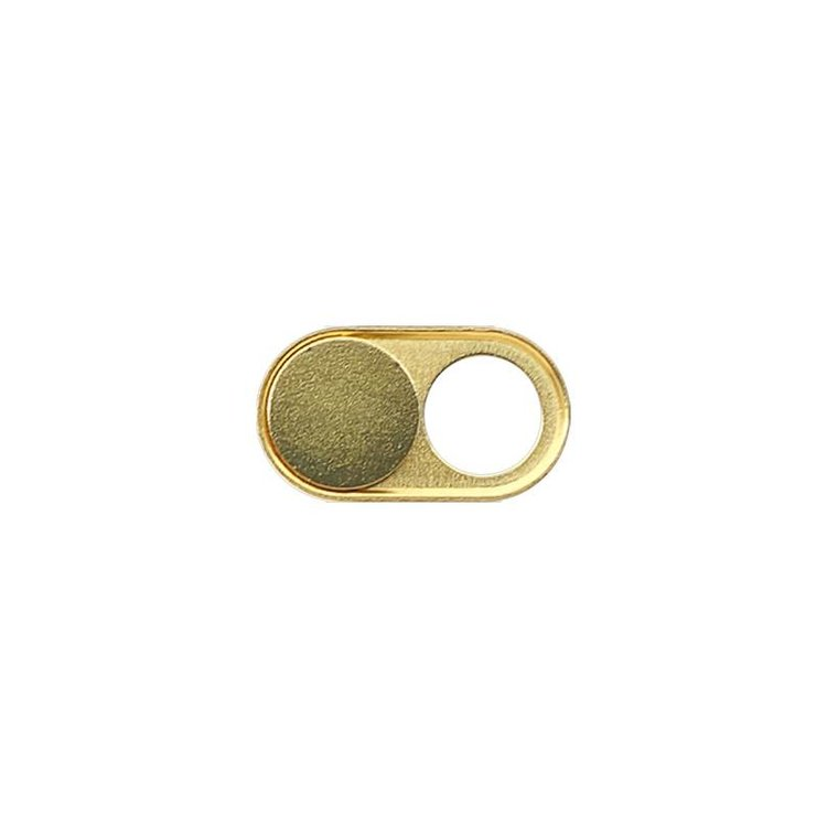 Webcam Cover | Gold Edition (Real Gold Plating) | 1 pcs