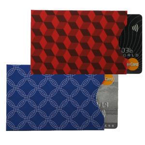 RFID Card Protection Sleeves | Diamond | Set of 2