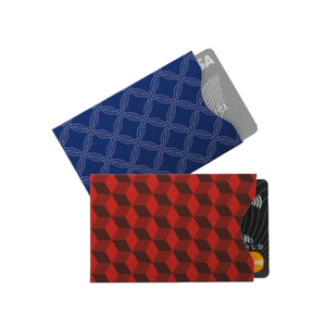 RFID Card Protection Sleeves  |  Diamond | Upright | Set of 2