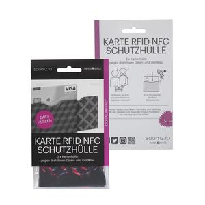 RFID-Schutzhüllen für Karten | Pink | 2er-Set