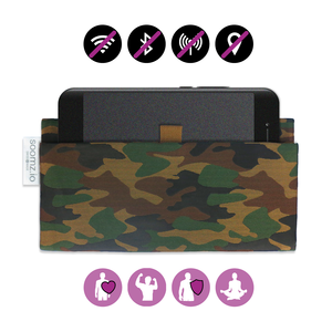 OFF-YOU-GO | Radiation-proof mobile phone case | Camouflage