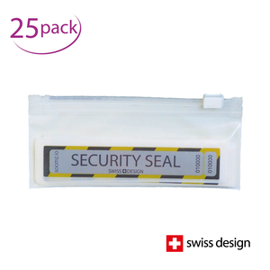 Security Seal | Tamper-proof labels | Make tampering immediately visible | Set of 25 in practical case for on the go
